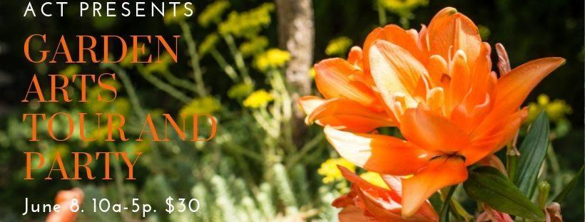 2019 Garden Arts Tour on Saturday, June 8th!
