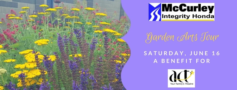 2018 Garden Arts Tour on Saturday, June 16th!