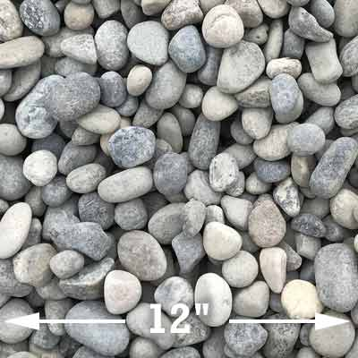 Medium river rocks