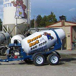 Concrete buggy mixer